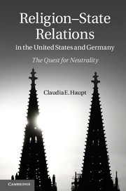 Religion-State Relations in the United States and Germany