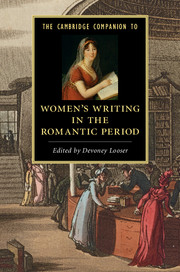 The Cambridge companion to Women's writing in the Romantic period