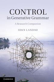 Control in Generative Grammar