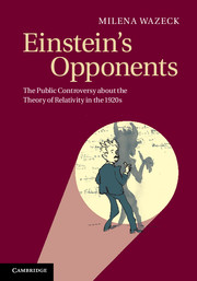 Einstein's Opponents