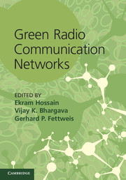 Green Radio Communication Networks