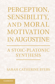 Perception, Sensibility, and Moral Motivation in Augustine