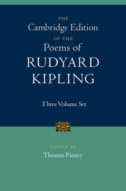 The Cambridge Edition of the Poems of Rudyard Kipling