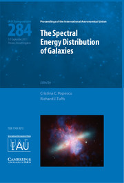 The Spectral Energy Distribution of Galaxies – SED 2011 (IAU S284)