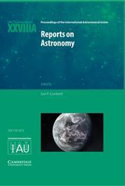 Reports on Astronomy 2010–2012 (IAU XXVIIIA)