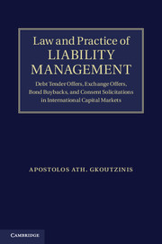 Law and Practice of Liability Management