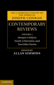 Joseph Conrad: Contemporary Reviews