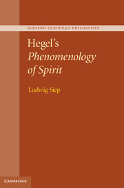 Hegel's Phenomenology of Spirit