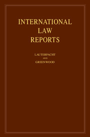 International Law Reports