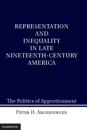 Representation and Inequality in Late Nineteenth-Century America