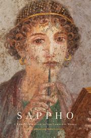 Sappho A New Translation of the Complete Works