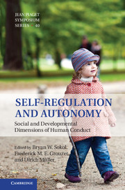 Self-Regulation and Autonomy