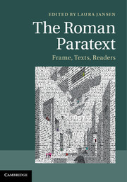 The Roman Paratext