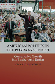 American Politics in the Postwar Sunbelt