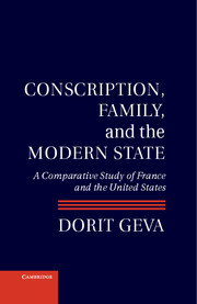 Conscription, Family, and the Modern State cover