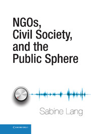 NGOs, Civil Society, and the Public Sphere