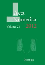 Acta Numerica 2012