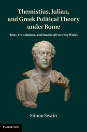 Themistius, Julian, and Greek Political Theory under Rome