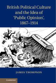 British Political Culture and the Idea of 'Public Opinion', 1867–1914