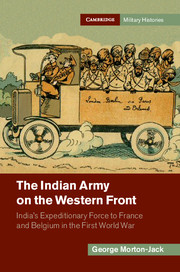 The Indian Army on the Western Front