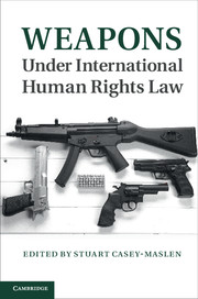 Weapons under International Human Rights Law