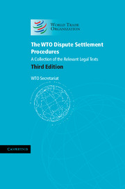 The WTO Dispute Settlement Procedures