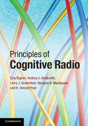 Principles of Cognitive Radio