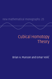 Cubical Homotopy Theory