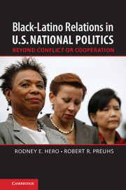 Black–Latino Relations in U.S. National Politics