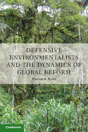 Defensive Environmentalists and the Dynamics of Global Reform