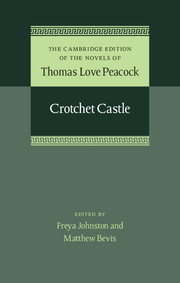 The Cambridge Edition of the Novels of Thomas Love Peacock