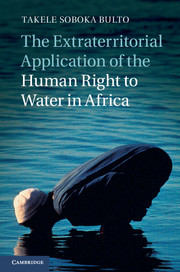 The Extraterritorial Application of the Human Right to Water in Africa