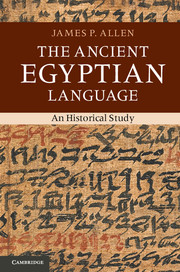 The Ancient Egyptian Language
