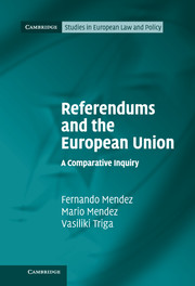 Referendums and the European Union