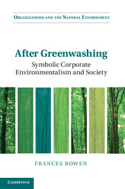 After Greenwashing