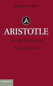Aristotle on the Nature of Community