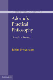 Adorno's Practical Philosophy