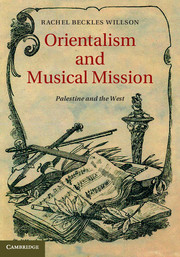 Orientalism and Musical Mission