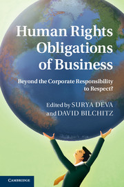 Human Rights Obligations of Business