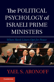 The Political Psychology of Israeli Prime Ministers