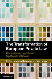 The Transformation of European Private Law