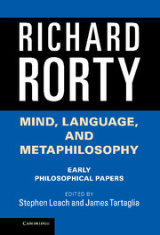 Mind, Language, and Metaphilosophy