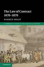 The Law of Contract 1670–1870