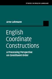 English Coordinate Constructions