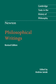Newton: Philosophical Writings