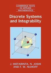Discrete Systems and Integrability