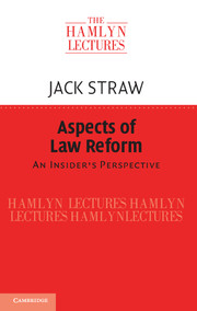 Aspects of Law Reform