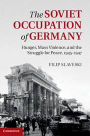The Soviet Occupation of Germany