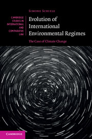 Evolution of International Environmental Regimes