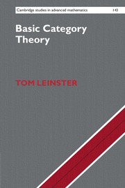 Front cover of Basic Category Theory